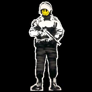 Banksy Cop