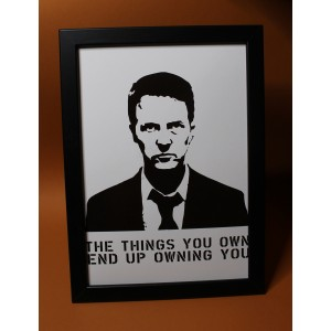 Fight Club/ The Things You Own Print