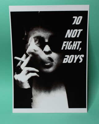 Do not fight, boys Print