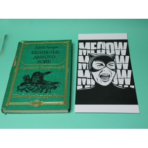 Psycho Catwoman print